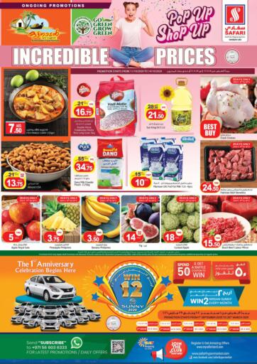 UAE - Dubai Safari Hypermarket  offers in D4D Online. Incredible Prices. Incredible Prices  Dealings Going On At Safari Hyper Market. Offers going on for Groceries, Fresh Foods, Toys, Home Needs & Many More. Hurry Up Offer Valid Till 14th October Hurry Up & Start Shopping. Till 14th October
